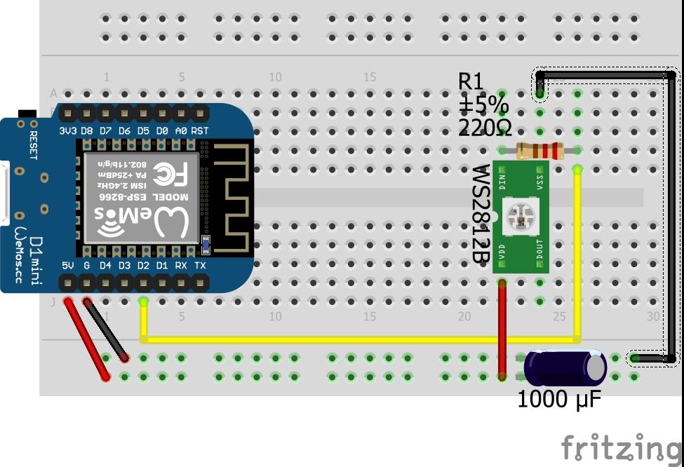 ESP8266 + WS2812B | Philipp's Blog